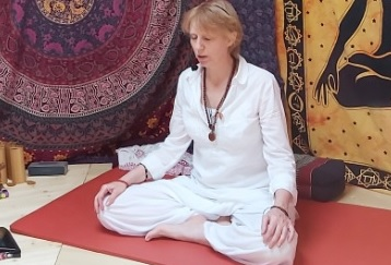 meditatie in yurt